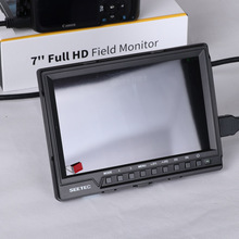 SEETEC 7 inch 1920*1200 full hd 1080p hdmi monitor small with zebra exposure,check field
