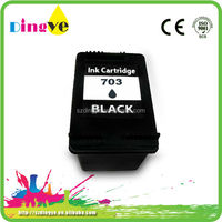 Competitive price of 703 black/ color ink cartridge with hp printer in India