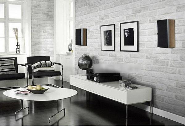 비닐 벽 장식 3 차원 벽돌 디자인 벽지-벽지 또는 벽 코팅-상품 ID ...