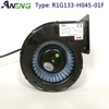 0-10V/PWM Control 2000rpm dc brushless blower fan 24v