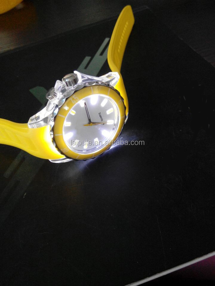 vogue ultra light sport watch with light up face