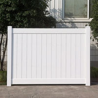 ASTM Standard Vinyl Fence Vinyl Privacy Fence