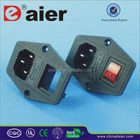 Universal sap-in Ac power socket with fuse