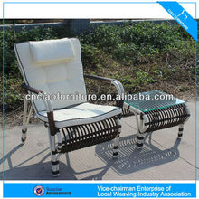 rocking chair metal tables and chairs CF718C+OT