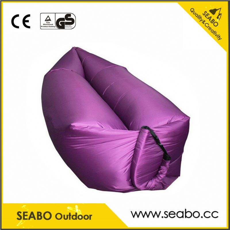 Best quality inflatable sofa with led light
