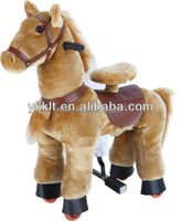 small walking horse toy approved by SGS