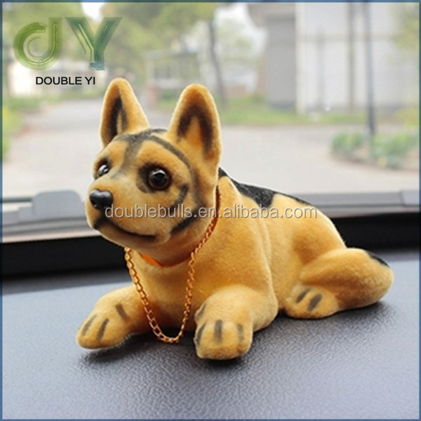 Custom Cute Shaking Head Dogs Furnishing Articles Model Car Decoration Car Accessories nodding head dog