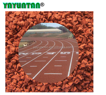Stadium full PU athletic track material Sport stadium flooring Plastic stadium materials