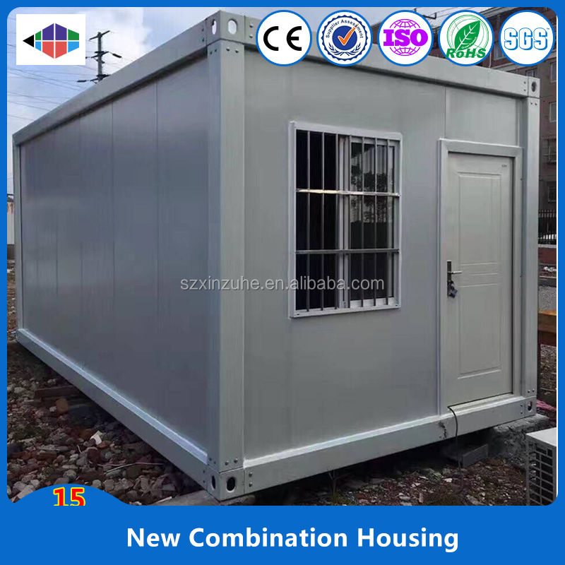 Xinzuhe China supplier 20ft flat pack container house container home