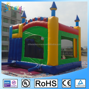 Fun Sunway Inflatable Bouncer with Slide Inflatable Combo Bouncer Inflatable Castle for Kids