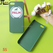 Custom OEM logo printing fashion premium gifts hard plastic pc cell phone case for Iphone 5 and 5S