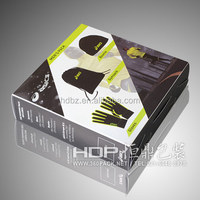 customized clear plastic box, clothes packaging box wholesale