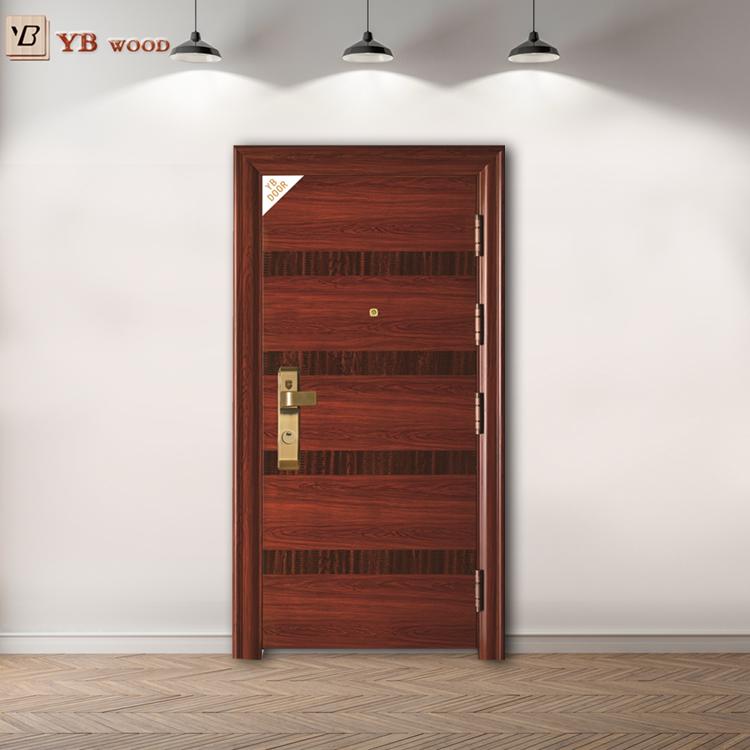 Smooth Iran Steel Interior Steel Security Door Best Quality Dubai