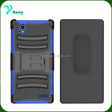 High quality hybrid holster combo case armor kickstand hybrid case for ZTE Warp Elite N9518