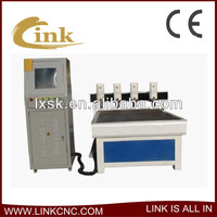 China medium model 4 heads wood cnc machine1212 /plastic machining