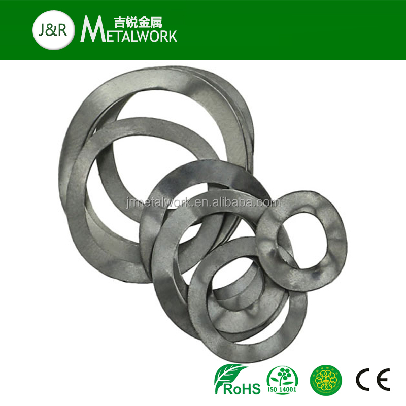 Grade 4.8 Grade 8.8 Carbon Steel Zinc Plated Wave Spring Washer DIN 137