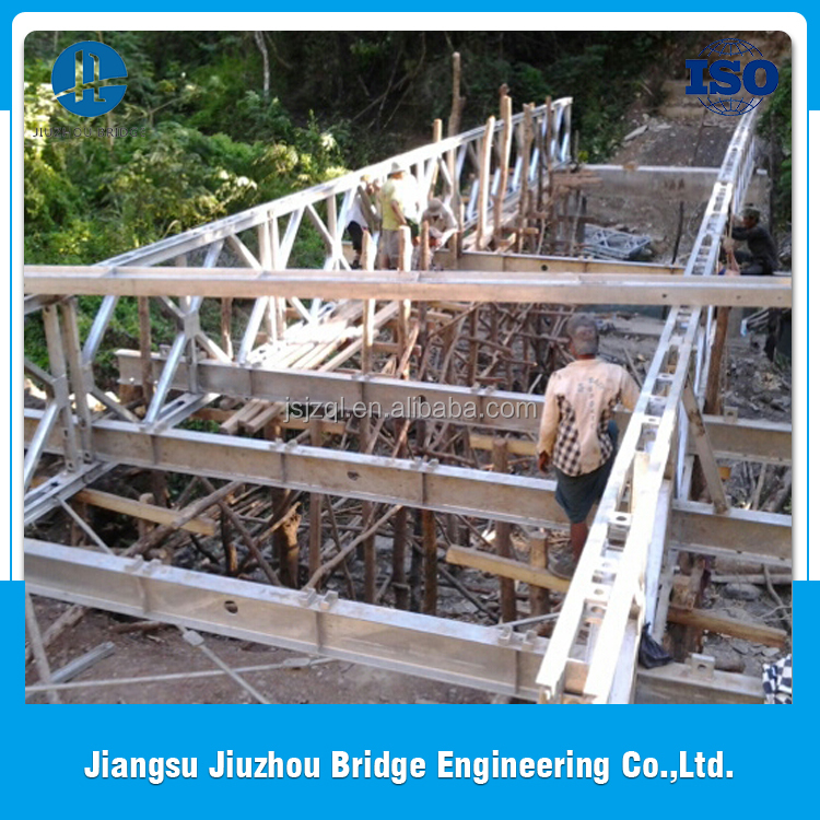 Space saving steel structure with good quality chord bolt for famous truss bridges