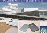 Aluminum veneer/metal plate/aluminum single panels