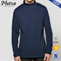 New Trend Mens Fashion Long Sleeve Turtle Neck T Shirts