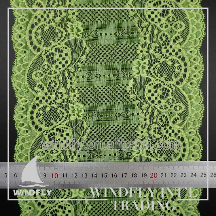 2017 Newest green lvoile ace border trim