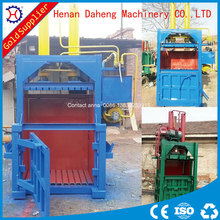 automatic vertical hydraulic baling press for waste cotton