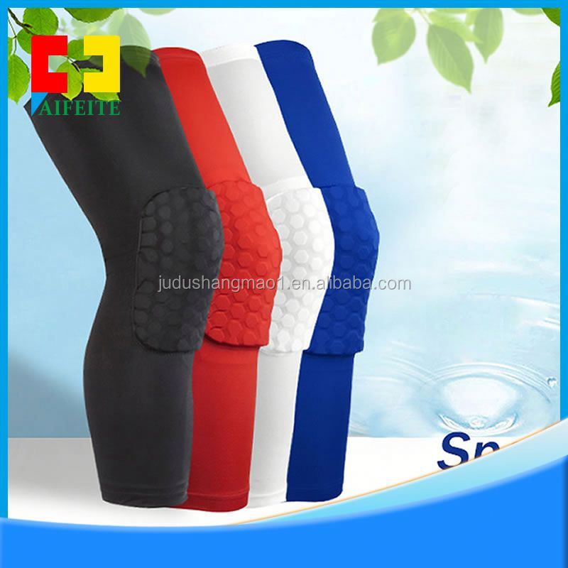 Basketball Knee Pads 1 Pair / 2 Pcs Knee pad Honeycomb Protective Pad