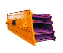 Linear vibrating screen factory price vibration sales in the india