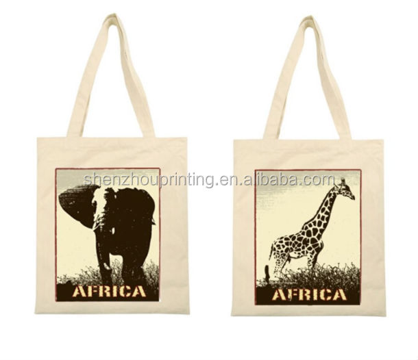 2015 Customized cotton canvas tote bag,cotton bags promotion,picture printing canvas grocery bag