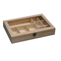 Six Pack Vintage Chest Wooden Tea