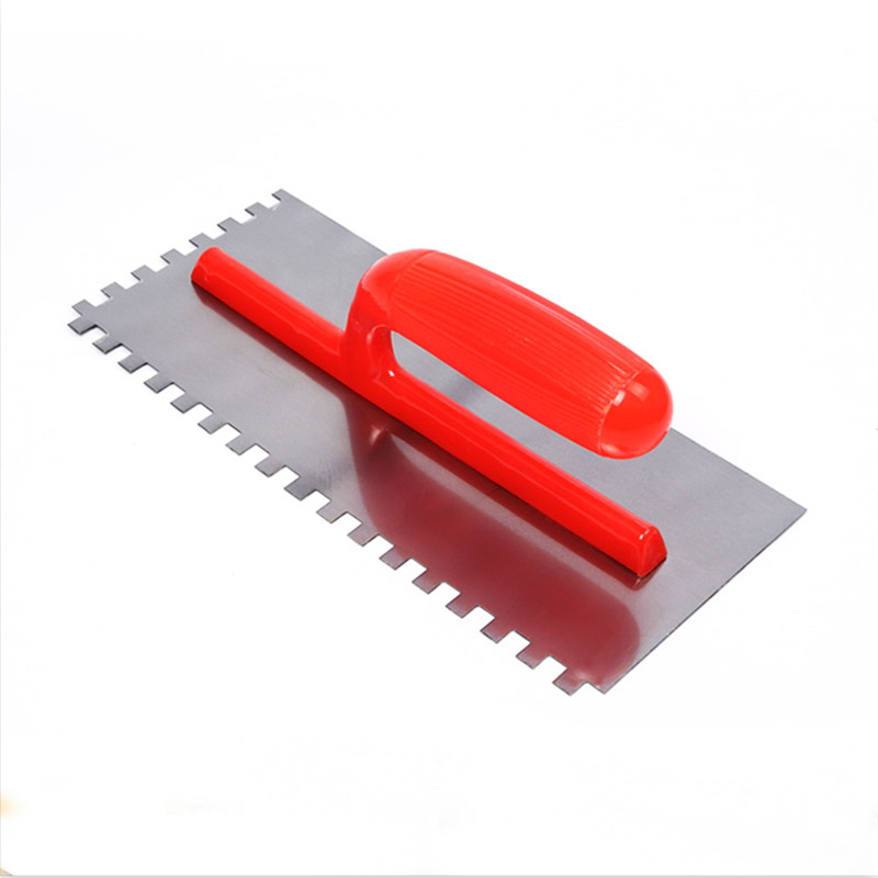 Flexible Carbon Steel Cutter Tooth Type Concrete Trowel T-09