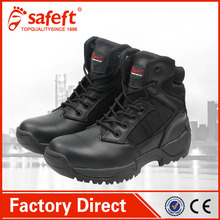 2017 New design indian us rubber cement army safety shoes