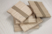 wholesale alibaba Food Grade custom popsicle sticks
