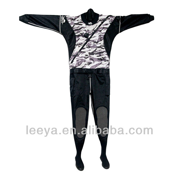 Camo sailing dry suit kayaking DS11