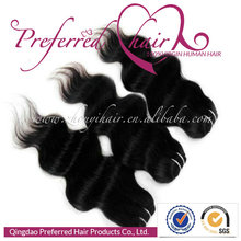 Premium Top Quality 1# Body Wave Style 22'' 100% Brazilian Human Hair Weft/Extensions Accept Paypal Payment
