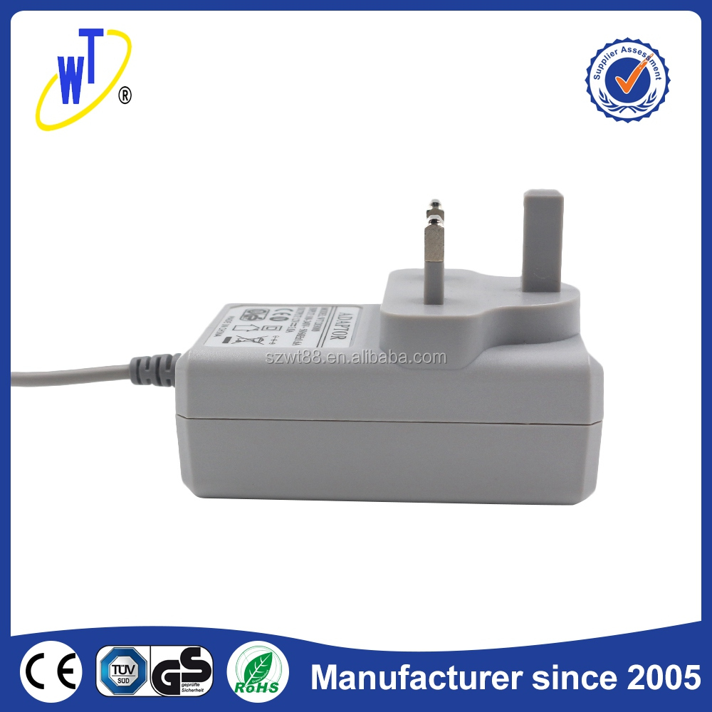 36W 24V 1.5A power adapter with CE GS FCC UL SAA FCC KC PSE ROHS certification switching power adapter