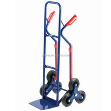 HT2504-1 stair clambing hand trolley truck with skids