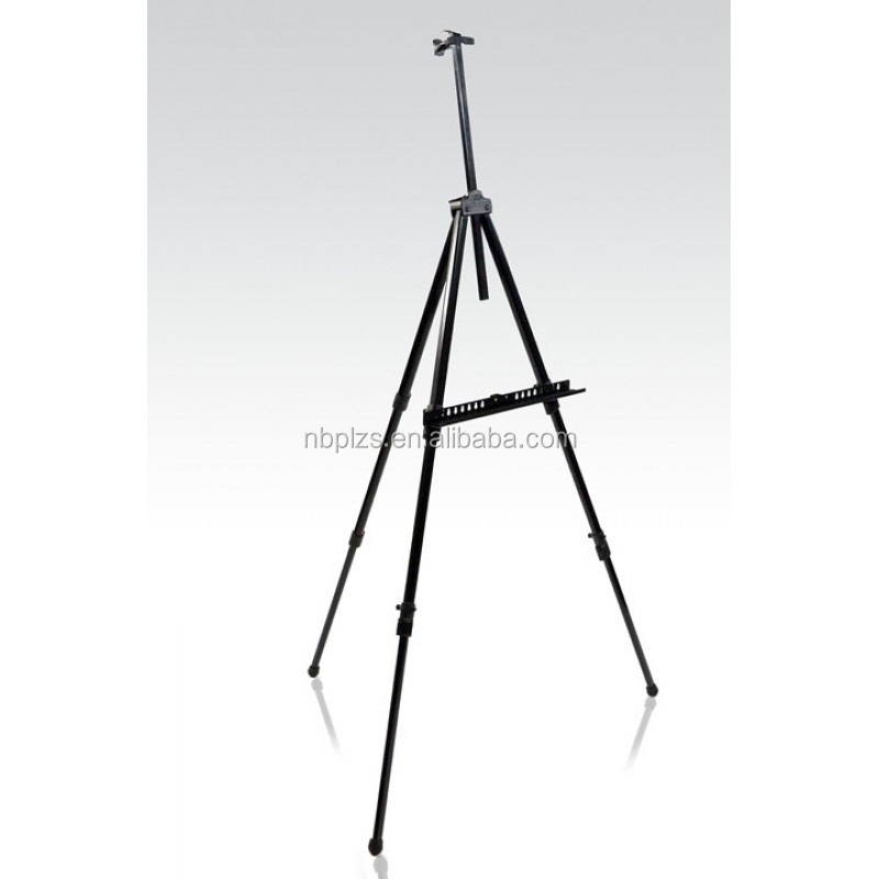 Adjustable Tripod stand metal painting easel,display easel