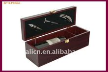 cheap promotional wooden wine box for Christmas