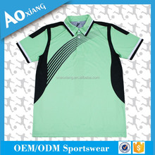 100% polyester New Design Polo T Shirt Design