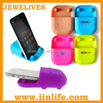 Cell phone accessory mobile silicone phone stand