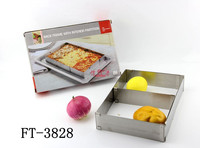 The most popualr new product stainless steel cake maker/hot cake pan maker