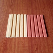 plastic wood shower room wall panel, Living room decoration materials
