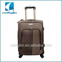 Popular design cheap nylon luggage built in combination luggage lock