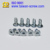 Self Tapping Galvanized Flat Head Square Screw