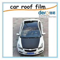 DERO 0.12mm panorama roof paper with bubble free