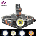 Ningbo High Power Cree led Headlamp, Rechargeable COB LED Headlamp, xml t6 led Rechargeable camping headlamp