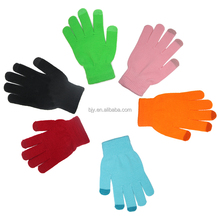 Wholesale Hot Alibaba Private Label Knitting Cotton Warm Cell Phone Sensitive Touch Screen Gloves