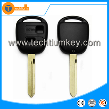 Factory manufacture keys for Toyota 2 button remote control key shell TOY47 blade without logo high quality wholesale