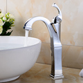 FLG factory supplier modern bathroom sink single handle chrome basin faucet tap