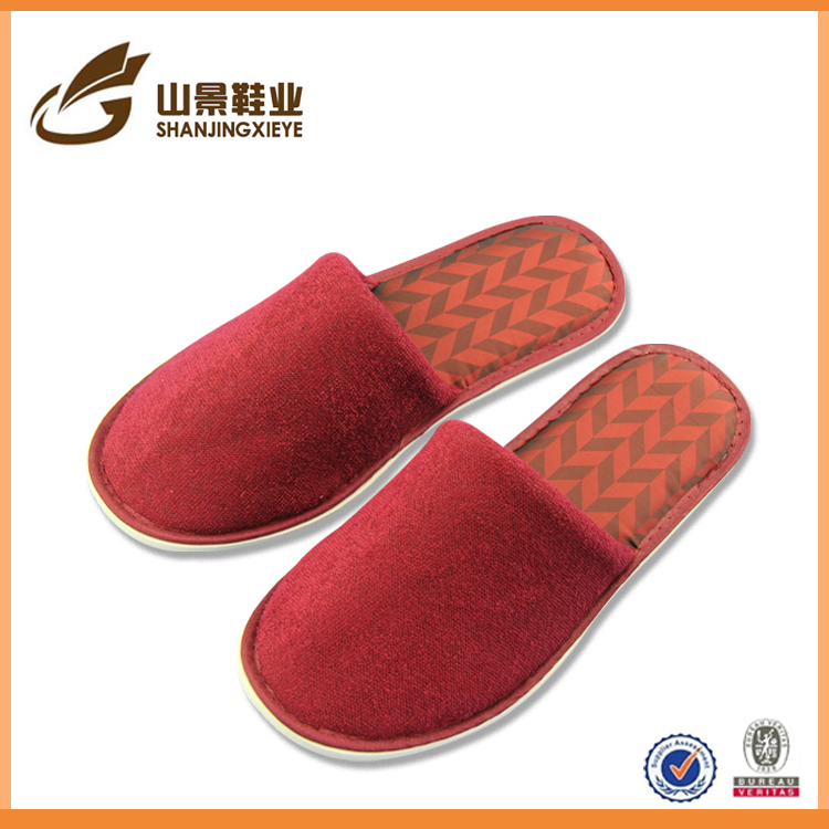 china direct import leather house slippers pu slippers design